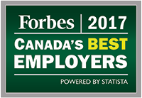Forbes 2017 Canada's Best Employers