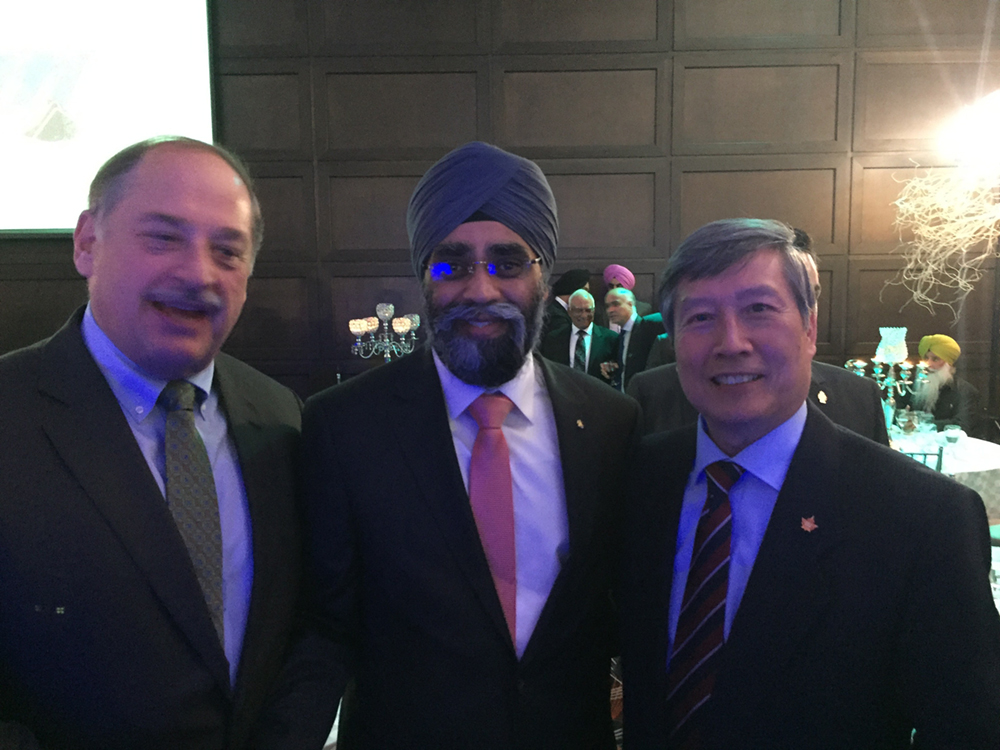 CEO and Governor Meet Minister Harjit Singh Sajjan