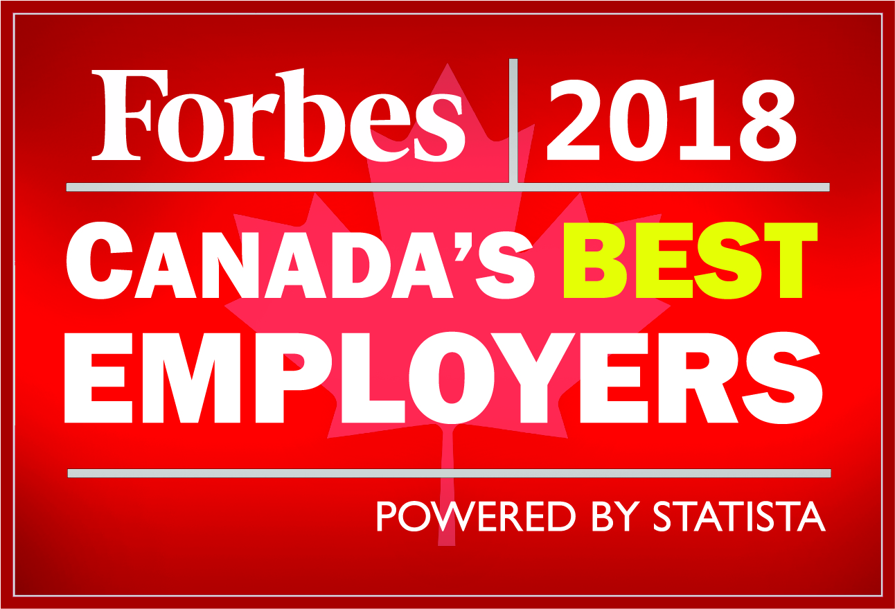 Forbes Canada's Best Employers 2018