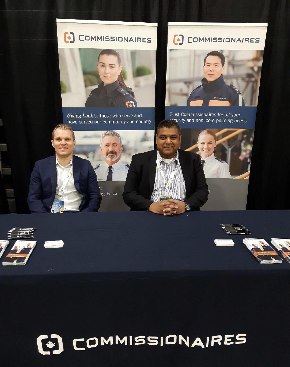 Commissionaires at NABOC 2018